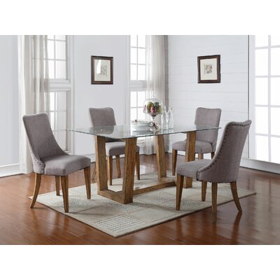 Forestville Dining Table Base Finish: Light Brown
