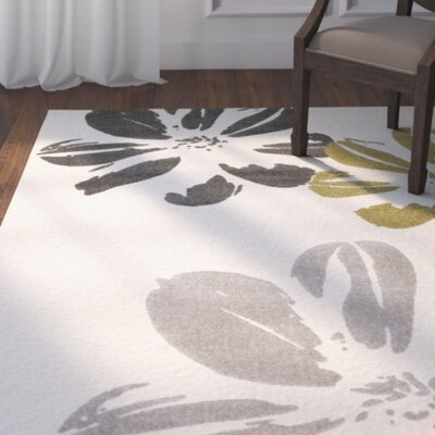Thrailkill Grosse Ivory Area Rug