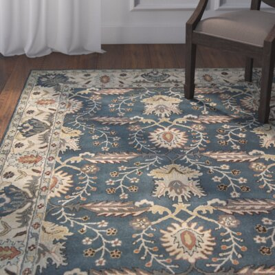Jerome Hand-Tufted Blue Area Rug