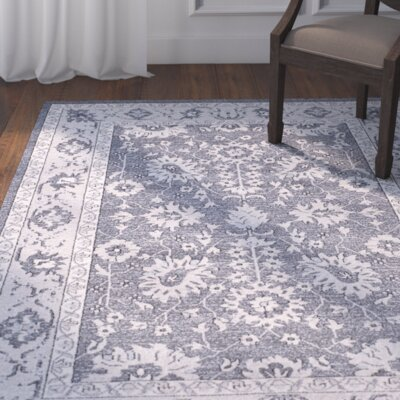 Carmel Dark Gray/Beige Area Rug Rug Size: Rectangle 3 x 5