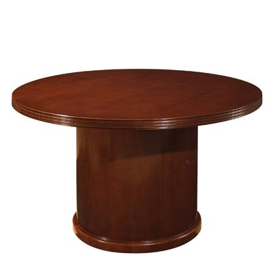 Lemasters Circular Conference Table Size: 3 6 L Diameter, Finish: Mahogany