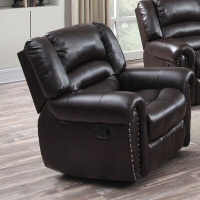 Dover Manual Rocker Recliner Upholstery: Cappuccino