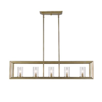 Coxsackie 5-Light Hanging Kitchen Island Pendant