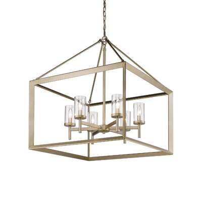 Coxsackie Modern 6-Light Foyer Pendant