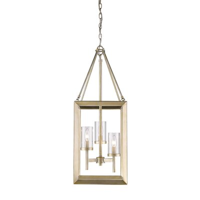 Coxsackie Modern 3-Light Foyer Pendant
