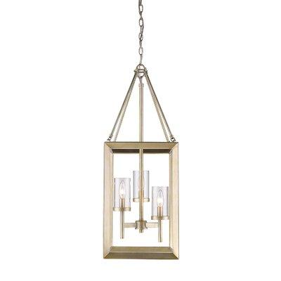 Thorne Modern 3-Light Foyer Pendant