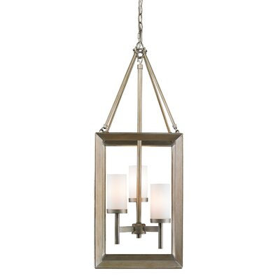 Coxsackie 3-Light Hanging Foyer Pendant