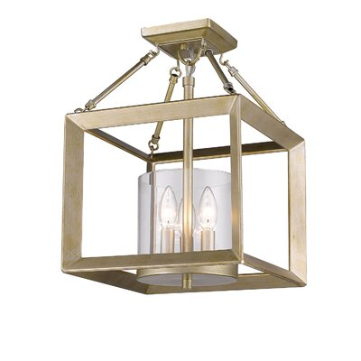 Coxsackie 3-Light Foyer Pendant