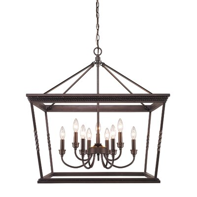 Northfield 9-Light Foyer Pendant Finish: Etruscan Bronze