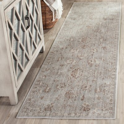 Carol Gray Area Rug Rug Size: Rectangle 4 x 6