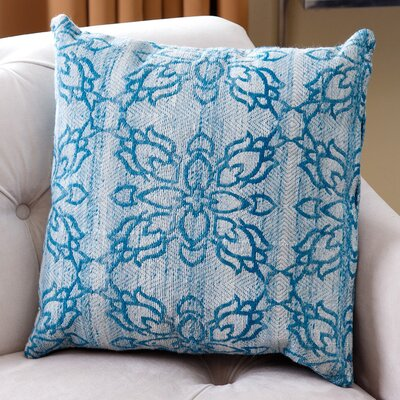 Gordon Lattice Wool Throw Pillow