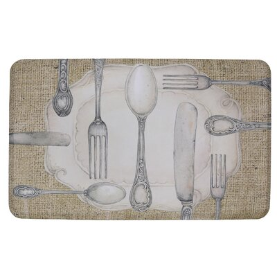 Harris Cooking Theme Kitchen Mat