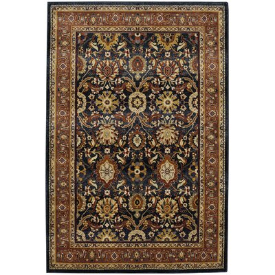 Harrisville Blue Slate Area Rug Rug Size: Rectangle 8 x 11
