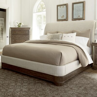 Pond Brook Upholstered Panel Bed Size: King