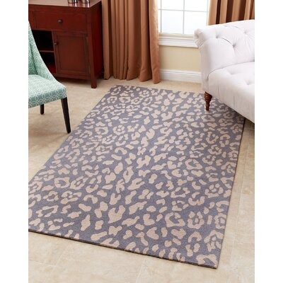 Kingston-upon-Hull Hand-Tufted Light Blue Area Rug Rug Size: 5 x 8