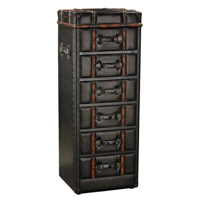 Aleshire 6 Drawer Lingerie Chest