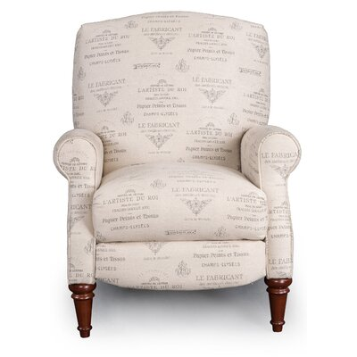Francis French Font Recliner