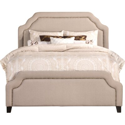 Danton Upholstered Panel Bed Size: King