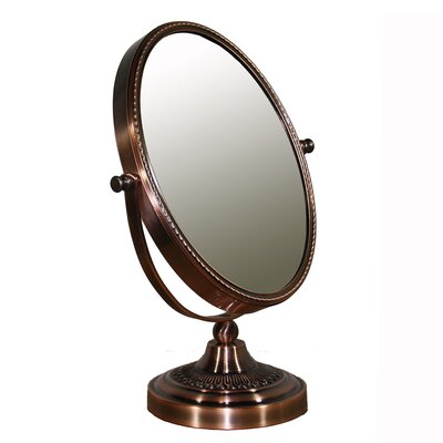Oval Brown Magnify Mirror Magnification: X3