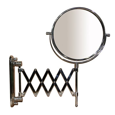 Accordion Round X Magnify Mirror Magnification: X3