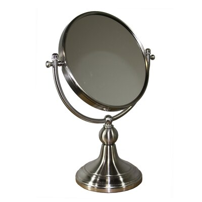Free Standing Round X Magnify Mirror Magnification: X3