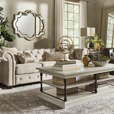 Sagebrush Tufted Button Chesterfield Sofa