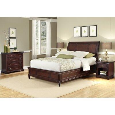 Linthicum Platform 3 Piece Bedroom Set Size: Queen