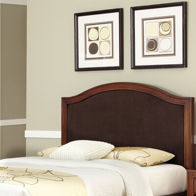 Myra Upholstered Panel Headboard Upholstery: Brown