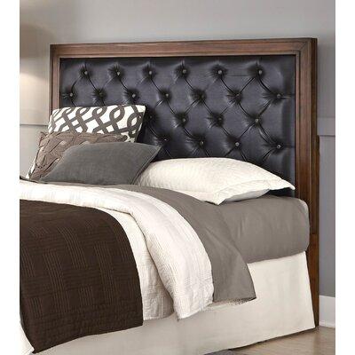 Myra Upholstered Panel Headboard Upholstery: Brown, Size: King / California King