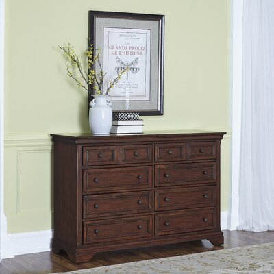 Linthicum 8 Drawer Dresser
