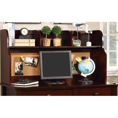 Halvorson 24 H x 42.13 W Desk Hutch Finish: Cherry