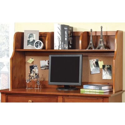 Halvorson 24 H x 42.13 W Desk Hutch Finish: Oak