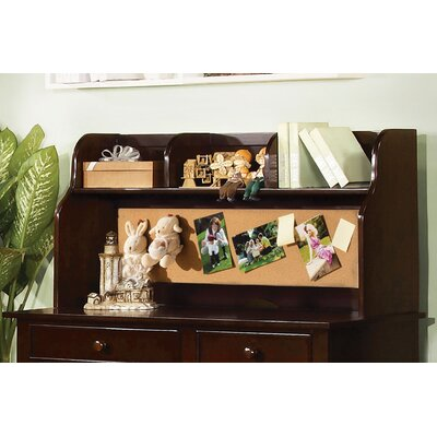 Halvorson 24 H x 42.13 W Desk Hutch Finish: Espresso