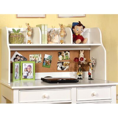 Halvorson 24 H x 42.13 W Desk Hutch Finish: White