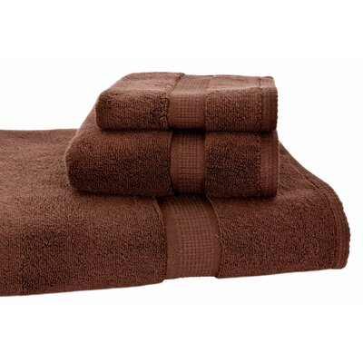 Bloomberg 3 Piece Bath Towel Set Color: Espresso