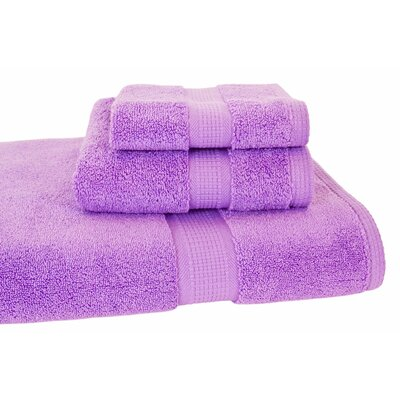 Bloomberg 3 Piece Bath Towel Set Color: Lilac
