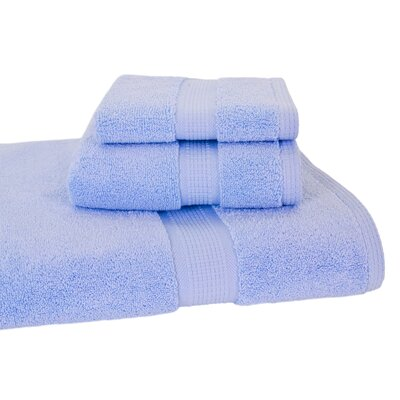 Bloomberg 3 Piece Bath Towel Set Color: Sky Blue
