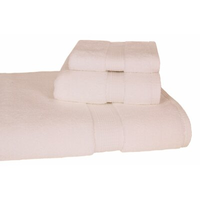 Bloomberg 3 Piece Bath Towel Set Color: Ivory