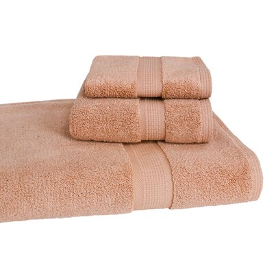 Bloomberg 3 Piece Bath Towel Set Color: Sand
