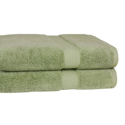 Bloomberg 100% Zero-Twist Supima Cotton Oversized Bath Sheet