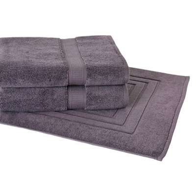Bloomberg 3 Piece Towel Set Color: Charcoal