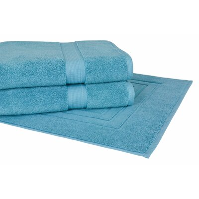 Bloomberg 3 Piece Towel Set Color: Teal