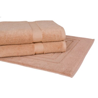 Bloomberg 3 Piece Towel Set Color: Sand