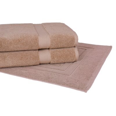 Bloomberg 3 Piece Towel Set Color: Latte