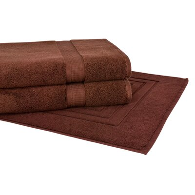 Bloomberg 3 Piece Towel Set Color: Espresso