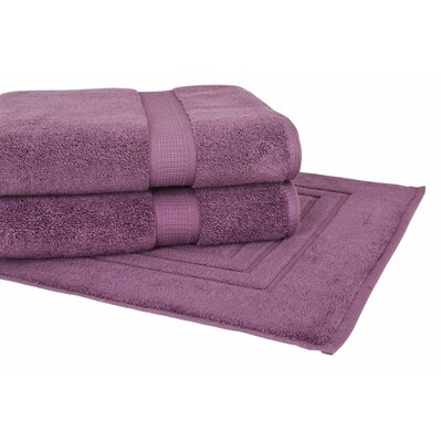 Bloomberg 3 Piece Towel Set Color: Amethyst