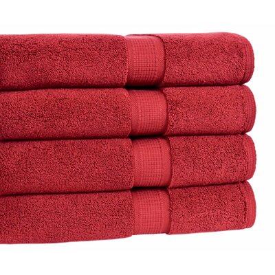 Bloomberg Bath Towel Color: Cranberry
