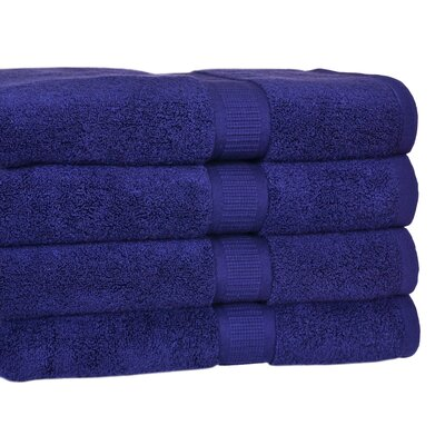 Bloomberg Bath Towel Color: Midnight Blue
