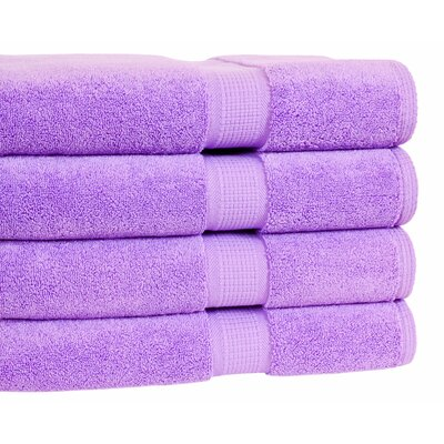 Bloomberg Bath Towel Color: Lilac