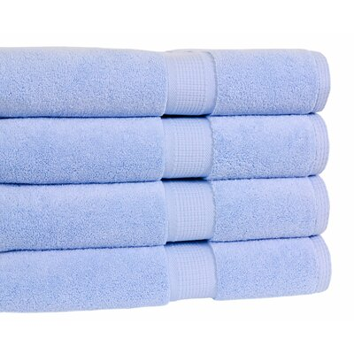 Bloomberg Bath Towel Color: Sky Blue